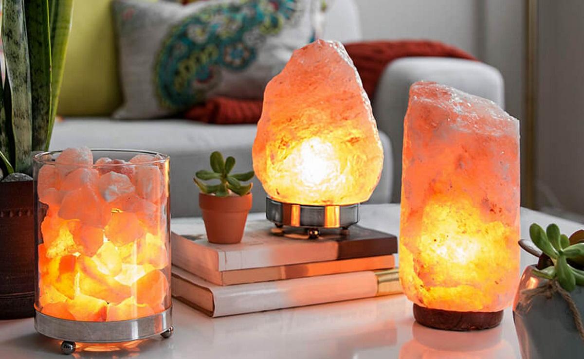 Как правильно выбрать соляную лампу