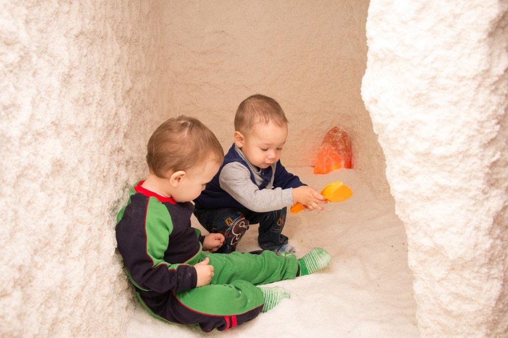 Показания для посещения соляной комнаты детьми